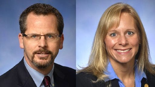 Michigan Republican Reps. Todd Courser of Lapeer and Cindy Gamrat of Plainwell are accused of misusing public resources in part to cover up their affair.
