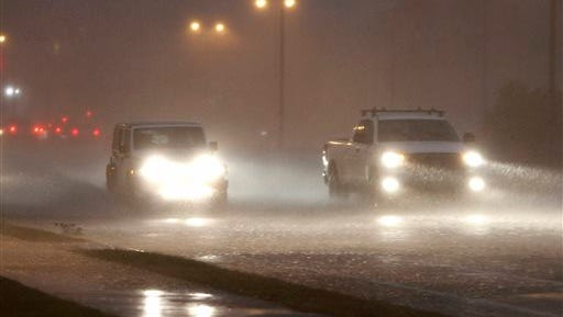 Forecasters say strong storms with heavy rains are possible across much of Alabama.
