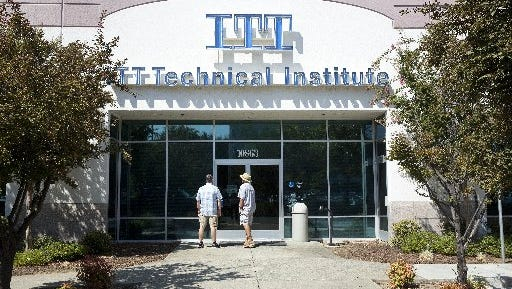 ITT Technical Institute campuses, like this one in California, closed earlier in September.