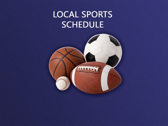 #stockphoto - Local sports schedule
