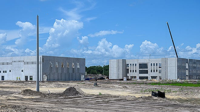 St. Johns County's newest high school, tentatively labeled HHH, is under construction in the World Golf Village area. The school is slated to open in the fall of 2021.