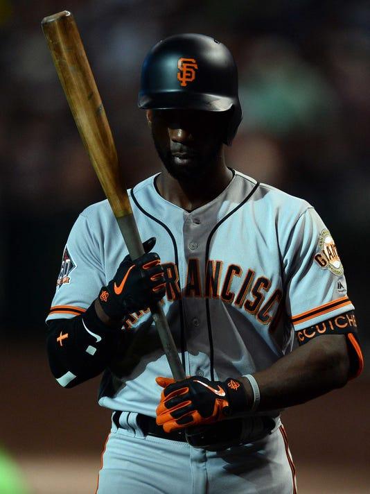 USP MLB: SAN FRANCISCO GIANTS AT ARIZONA DIAMONDBA S BBN ARI SF USA AZ