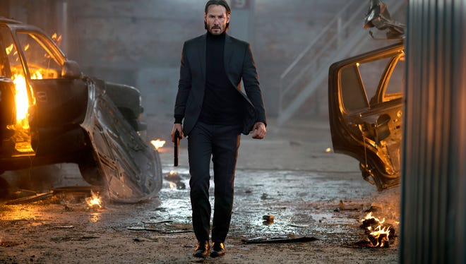 "Keanu Reeves plays a former hit man in ""John Wick,"" opening Oct. 24."