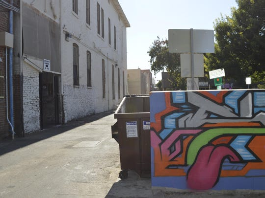 City and downtown Visalia officials are combating homelessness with art.