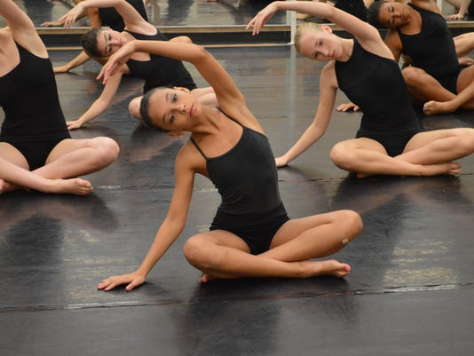NJDTE Level 3B dancers in Limon class 2 Nancy Turano.JPG
