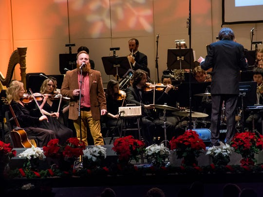 Marc Broussard performs with the Acadiana Symphony
