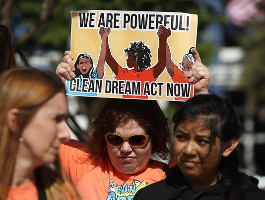 Immigration Activists In Florida Rally For DREAM Act At Marco Rubio's Office