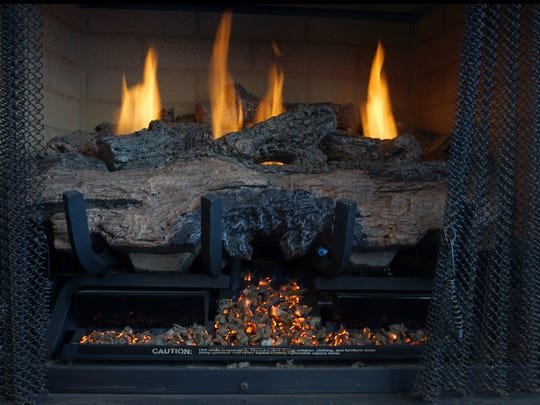 Ebert's Heating and Cooling offers gas logs in addition