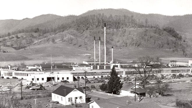 Dayton Rubber Co.'s Hazelwood plant opened in the south part of Waynesville in 1941.
