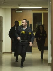 """A scene from an episode of the NBC TV drama """"Blindspot"""""""