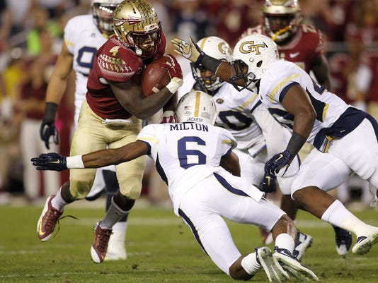 NCAA Football: Florida State at Georgia Tech