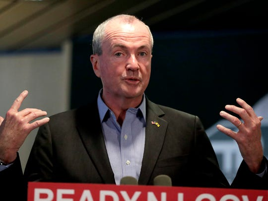 New Jersey Gov. Phil Murphy speaks Friday about a snowstorm that hit the day before.