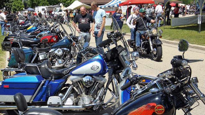 Hundreds of motorcyclists show up to the Thunder in the Park in South Park, as evidenced by this file photo. This year's event June 4 and 5.