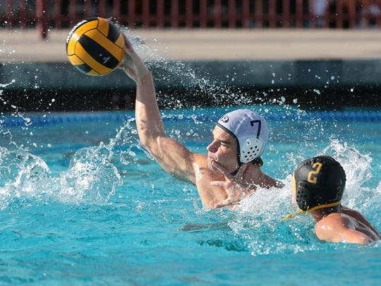 Kyle Rizzo isone of several Redwood juniors that will give the Ranger water polo team strong depth for the next two seasons.
