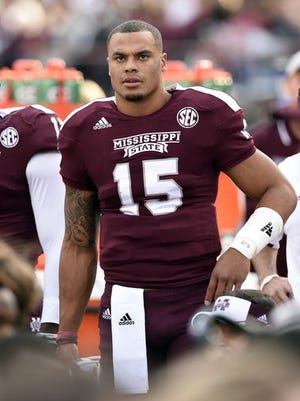 Mississippi State quarterback Dak Prescott will wait until after the Orange Bowl to decide his future.