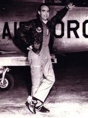 U.S. Air Force Col. Norman Schmidt was shot down in