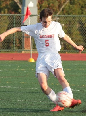 Tappan Zee hosted Pearl River in a boys varsity soccer game at Tappan Zee High School in Orangeburg Oct. 20, 2014. Pearl River won 3-0.