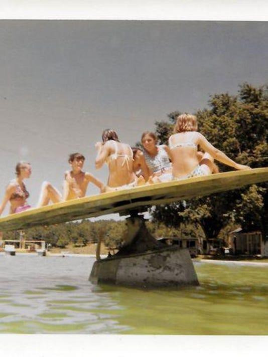 1968 photo on water wheel
