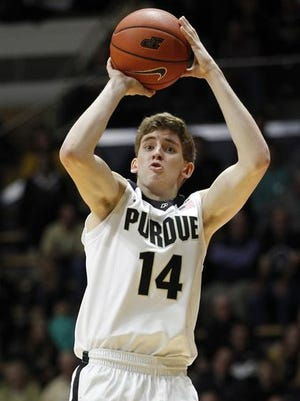 Purdue coach Matt Painter said a decision has not been made on whether or not to redshirt freshman Ryan Cline.
