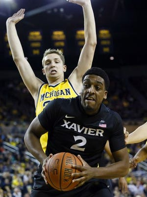 James Farr had a team-best 13 rebounds at Michigan and leads Xavier with 10.7 rebounds per game through three games.