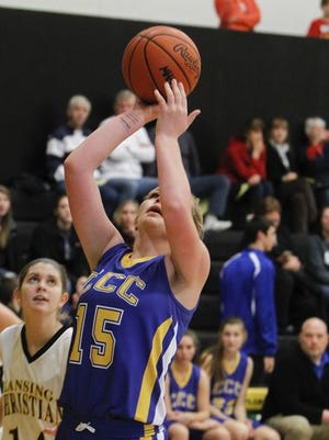 Carson City-Crystal's Madi Weese was one of the area's top performers Friday.