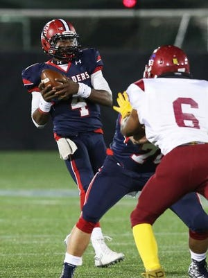 Stepinac quarterback Tyquell Fields was one of eight Stepinac players named all-state by the New York State Sportswriters Association.