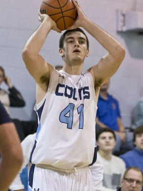 CBA's Pat Andree finished at the CBA's all-time leading scorer.
