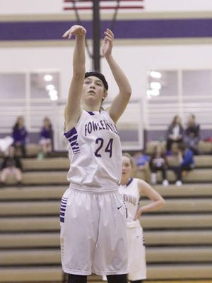 Fowlerville's Elie Smith was voted Athlete of the Week after averaging 10.5 points and 10 rebounds in two Gladiators wins last week.