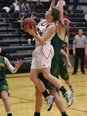 Brooke Stanfield and the Republic Tigers hold the No. 1 spot in the Missouri Basketball Coaches Association state rankings.