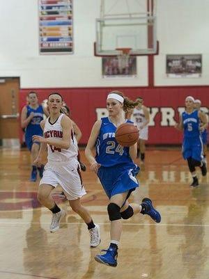 Sarah Ogden will be key in the post this season for the Royals.