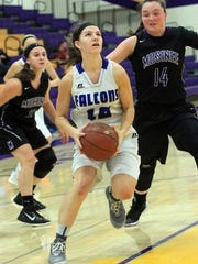 Ashley Groshek is part of an Amherst team that received a No. 3 seed in Division 4 for the WIAA girls basketball playoffs