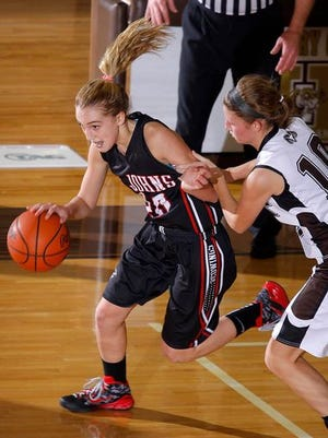 Maddie Maloney has been a key contributer for the surging St. Johns girls basketball team this season.