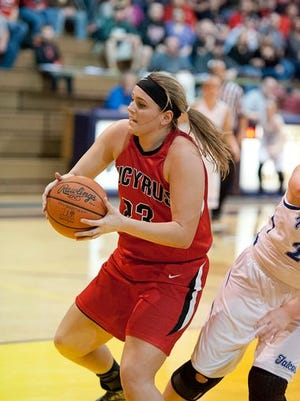 Bucyrus' Kelci Simms was named to the All-N10 First Team on Monday.