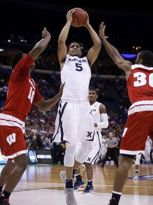 Trevon Bluiett returns next season as Xavier's leading scorer with 15.1 points per game. The sophomore also averaged 6.1 rebounds this season.