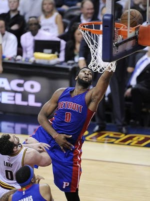 After a lackluster Game 1, Andre Drummond bounced back with 20 points and seven rebounds in Game 2.