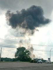 A Blue Angels jet crashed in Smyrna, Tenn., Thursday afternoon killing the pilot.