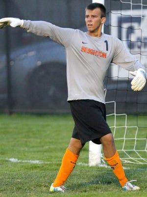 Brighton goalkeeper Riley Radwanski-Gallas earned his third shutout in four games on Tuesday.