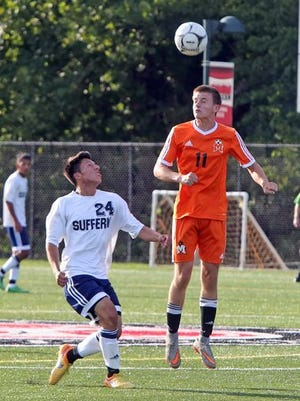 Mamaroneck beat Suffern 2-1 on Sept. 5 and is ranked No. 2 overall in the new lohud boys soccer rankings.