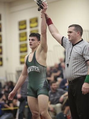 Brewster junior Grant Cuomo is a defending Section 1 champion.