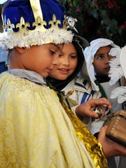 When having a posada, family members can dress up as Mary and Joseph and other characters from the Nativity.