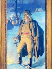 This painting of Baron Steuben is one of 16 commissioned