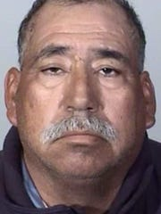 Booking photo of truck driver Jose Alejandro Sanchez-Ramirez, who has been charged with misdemeanor vehicular manslaughter in a deadly Metrolink commuter train crash in Oxnard on Feb. 24, 2015.