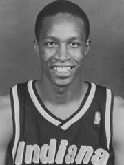 File photo of former Indiana Pacers point guard Micheal Williams.