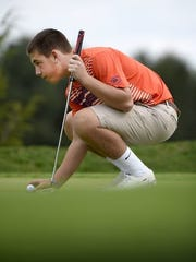 Ryan Woelfing has played some quality golf early on to help Elco into Section 3 title contention.