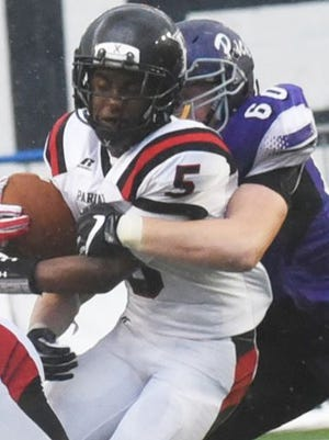 Parkway's Amani Larry will take over at quarterback this week for the Panthers in the Battle on the Border.