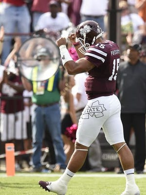 Mississippi State quarterback Dak Prescott was named as a semifinalist for the Maxwell Award on Monday.