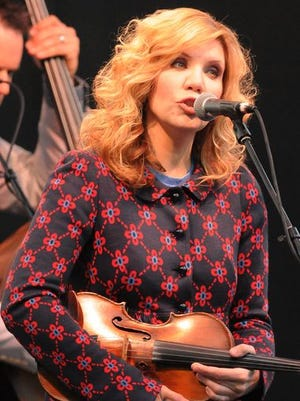 Alison Krauss performs at The Woods at Fontanel.