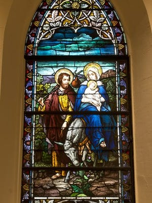 The colors of St. Michael's Basilica will shine again.