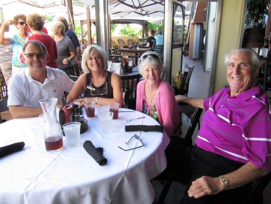David and Kathy Caruso, Joyce and Lou Imbrogno.