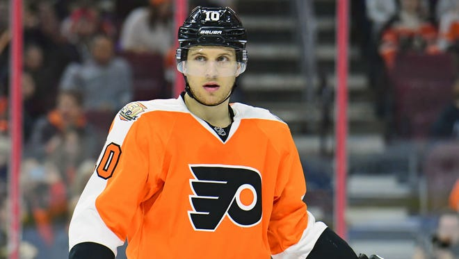 Brayden Schenn got back to his natural center position in November and hasn't left it since.